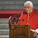 Pope Benedict's address