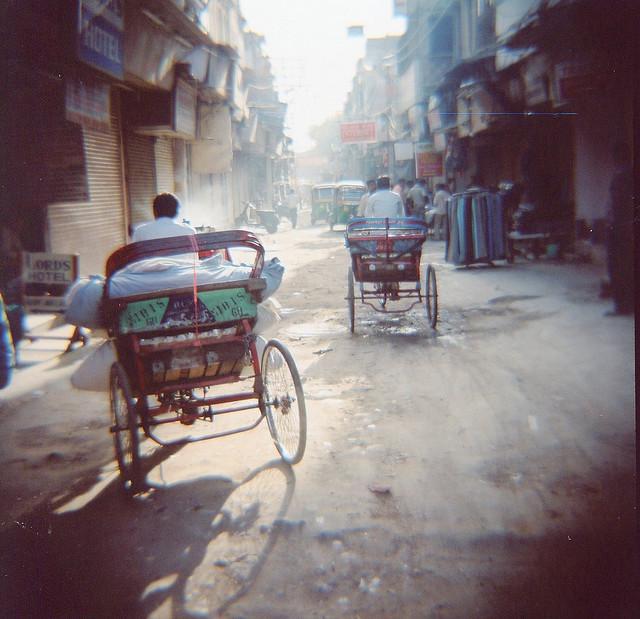 Rickshaw Morning