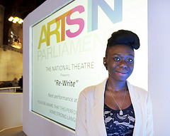Tosin Omosebi, 17, author of the winning play 'Re-Write'