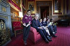 Children meet Commons Speaker for reading intiative in Speaker's Apartment