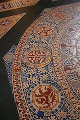 Floor tiles, Central Lobby