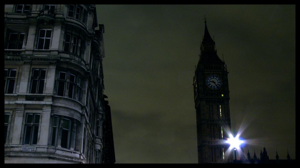 Earth Hour: Big Ben