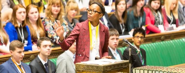 UK Youth Parliament sitting