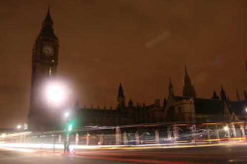 Earth Hour: Parliament