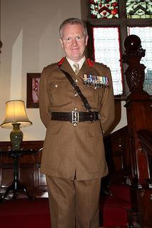 Defence Attaché Sean English
