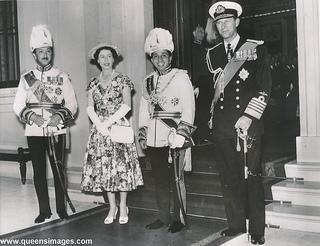 Iraqi king visit UK