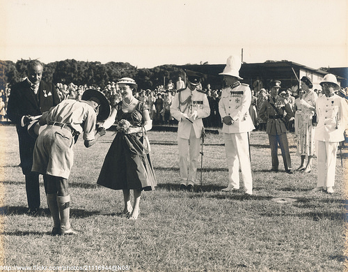 Princess Margaret in Bahamas