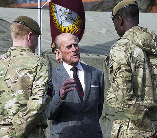 Grenadier Guards visit