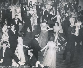 Princess Elizabeth dancing in Malta