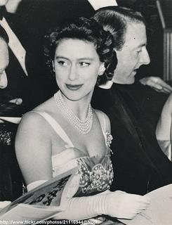 Princess Margaret at ballet