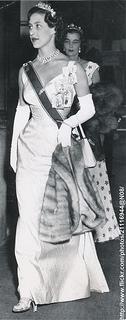 Princess Margaret arrives at Opera House