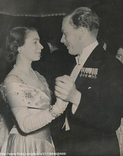 Princess Elizabeth at charity ball