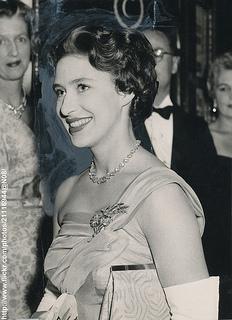 H.R.H.Princess Margaret  at cinema