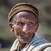 Ethiopie du nord: vieil homme dans les montagnes du Simien.