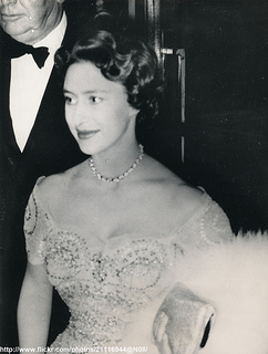 Princess Margaret arrives at White City