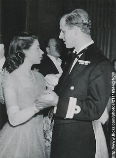 Princess Elizabeth and her fiance
