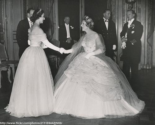 H.R.H.Princess Margaret at Paris ball