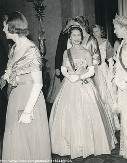Princess Margaret at reception