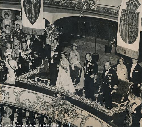 Queen Elizabeth in Oslo