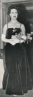 Princess Margaret at Cafe de Paris