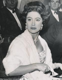 Princess Margaret at theatre