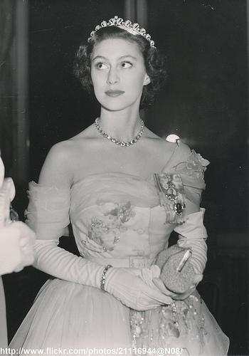 H.R.H.Princess Margaret in Paris