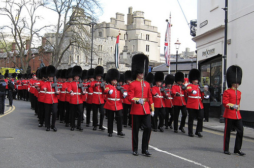 Grenadier Guards, State visit parade , Windsor 2013  #1403