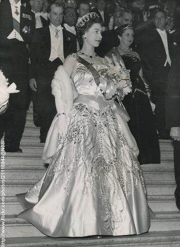 Queen Elizabeth at Paris Opera