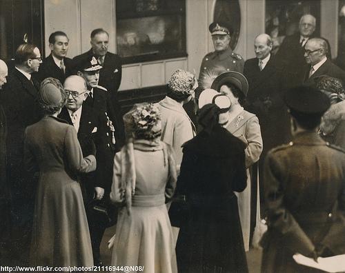 President Auriol arrives in London