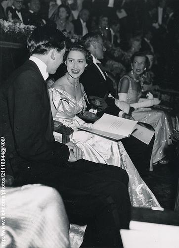 Princess Margaret at cinema