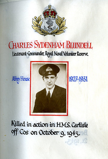 Blundell, Charles Sydenham (1913-1943)