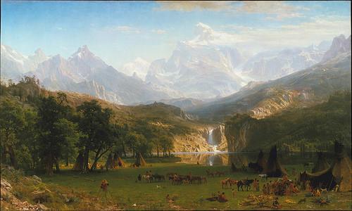 1863 THE ROCKY MOUNTAINS LANDERS PEAK