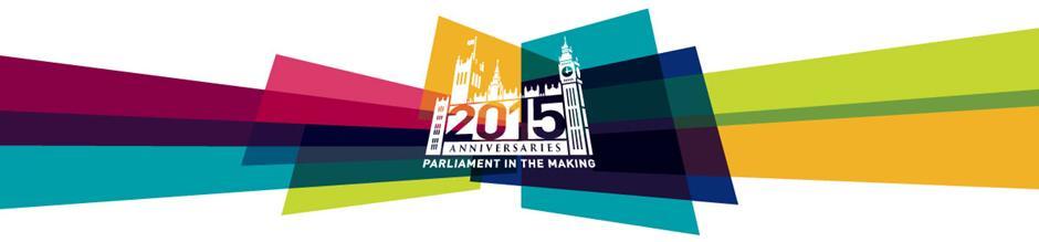 2015 Anniversaries banner