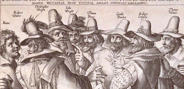 The Gunpowder Plot - the conspirators