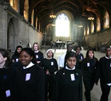 School tour of Parliament