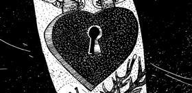 Artwork by Joel Millerchip '2015 Love Locked'