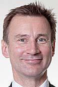 Rt Hon Jeremy Hunt MP