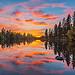 Spokane River Reflection