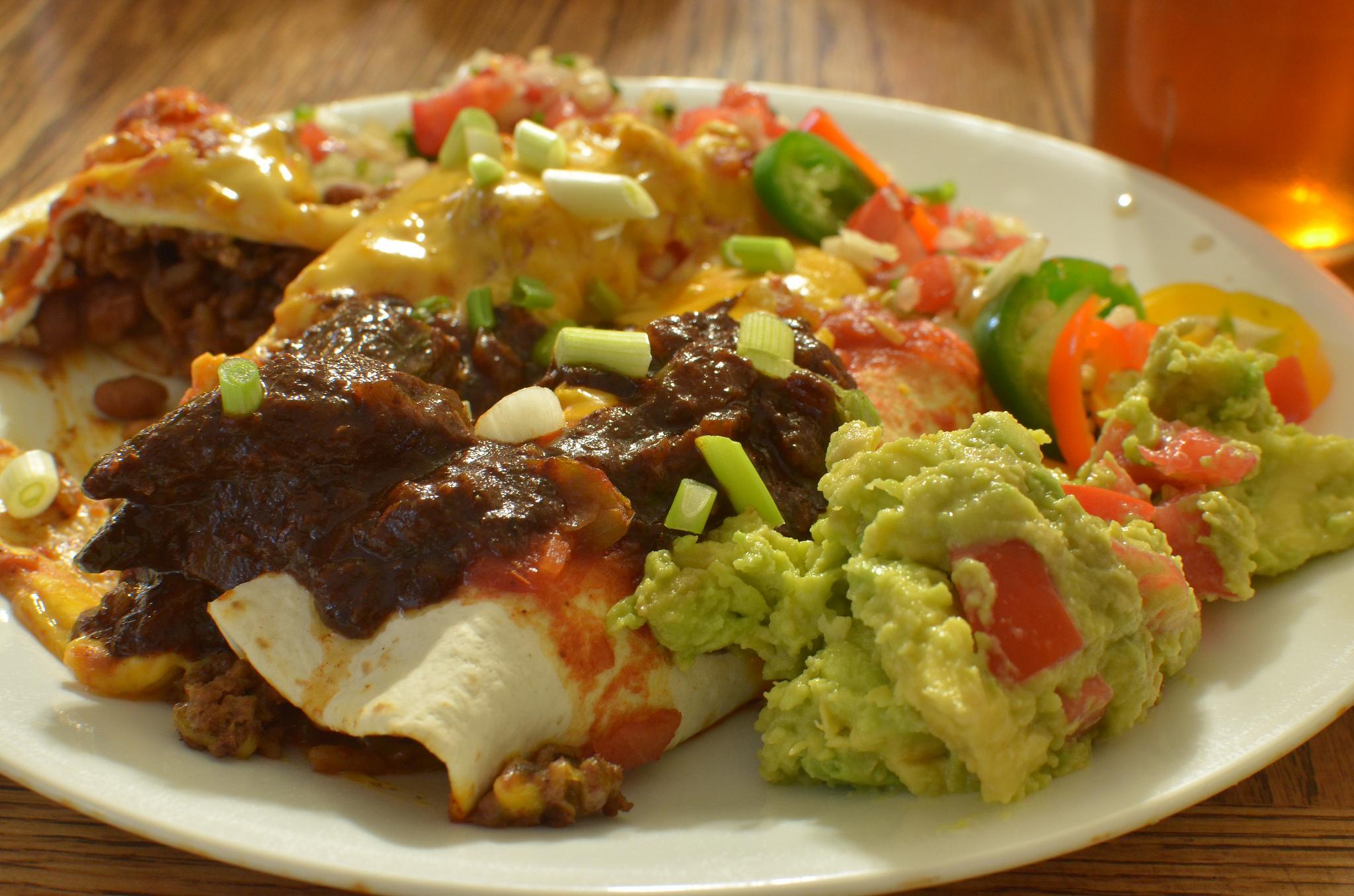 Mmm... enchiladas,