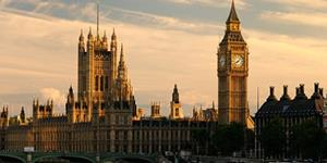 Houses of Parliament exterior view