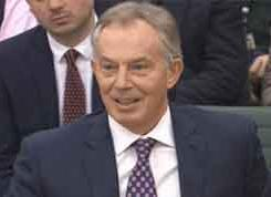 Watch Tony Blair give evidence on Libya