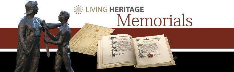 Living Heritage Memorials