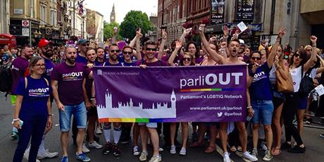 Parliament at Pride