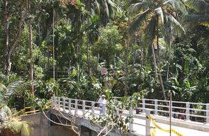 rural bridges in Sri Lanka