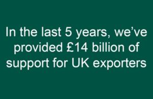 UK Export Finance: success stories